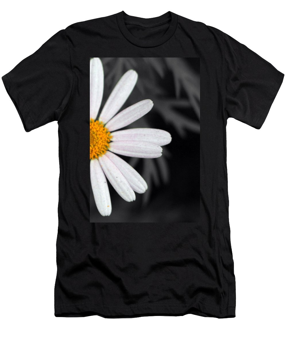 Black Men's T-Shirt (Athletic Fit) featuring the photograph Half The Good by Munir Alawi