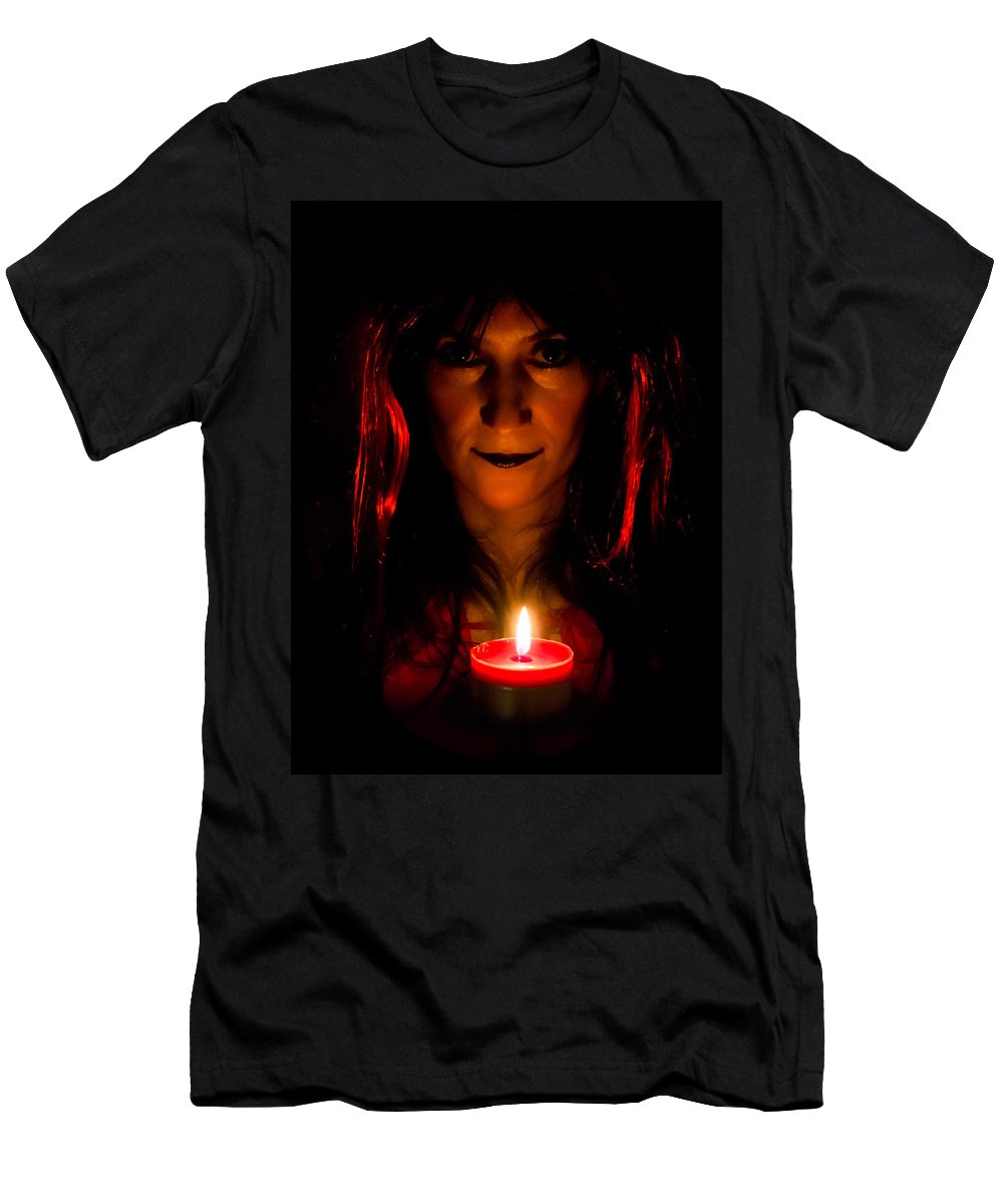 Halloween Men's T-Shirt (Athletic Fit) featuring the photograph Halloween by Ernesto Santos
