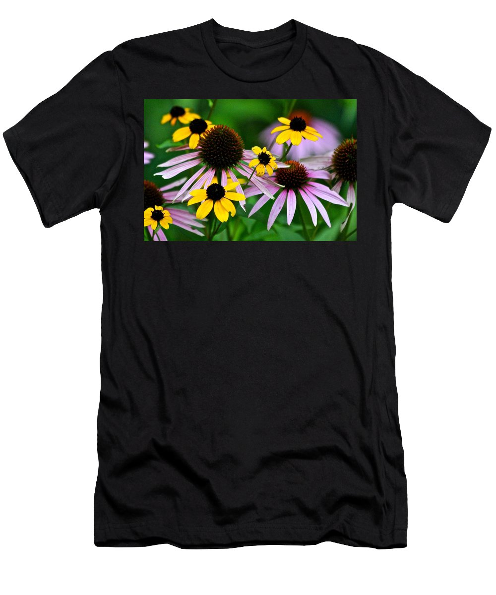 Nature Men's T-Shirt (Athletic Fit) featuring the photograph Harmony by Debbie Nobile