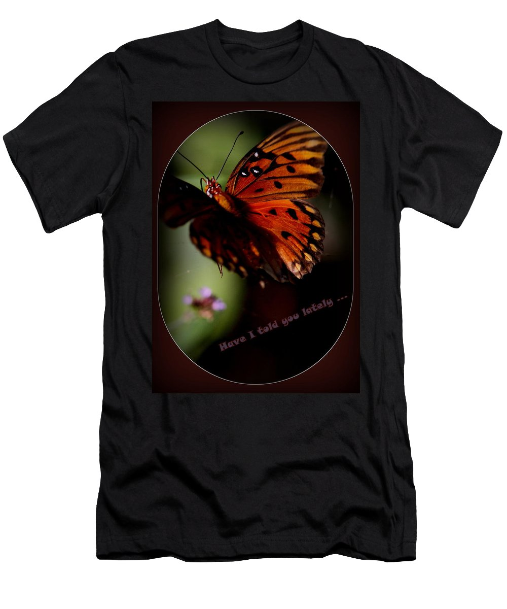 Have I Told You Lately Men's T-Shirt (Athletic Fit) featuring the photograph Have I Told You Lately by Travis Truelove