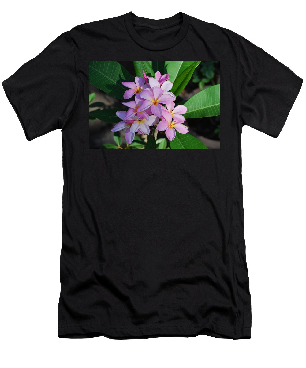 Used By Hawaiian People To Make Necklace Men's T-Shirt (Athletic Fit) featuring the photograph Hawaiian Lei Flower by Robert Floyd
