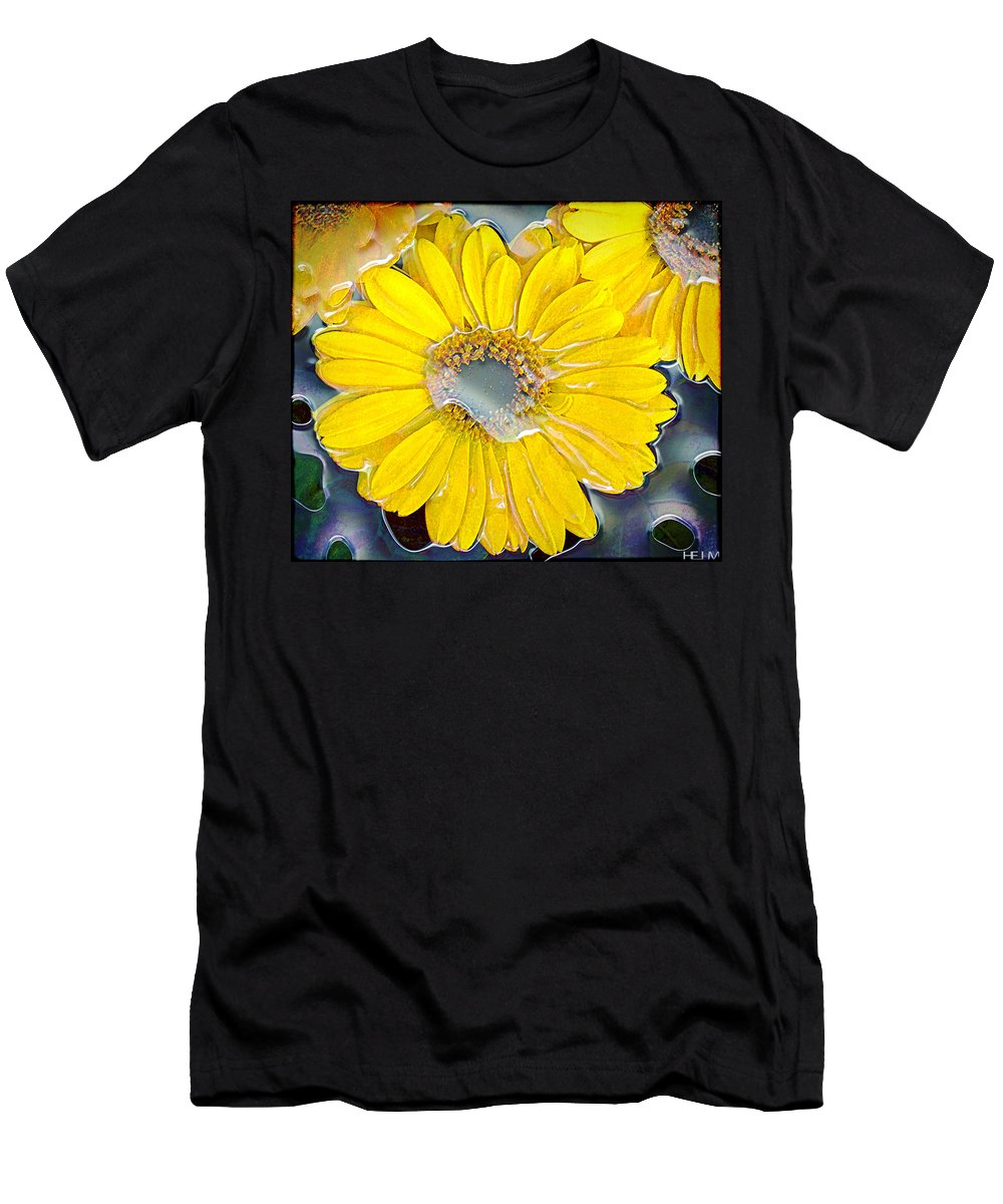 Abstract Paintings Men's T-Shirt (Athletic Fit) featuring the photograph Heavy On The Dew by Mayhem Mediums