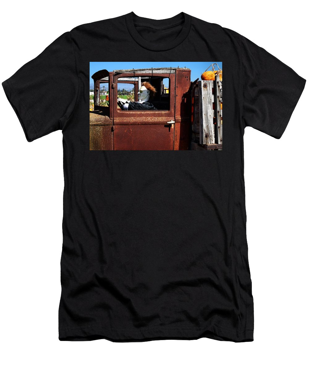 Farming Men's T-Shirt (Athletic Fit) featuring the photograph Hell Bent To Market by Michael Gordon