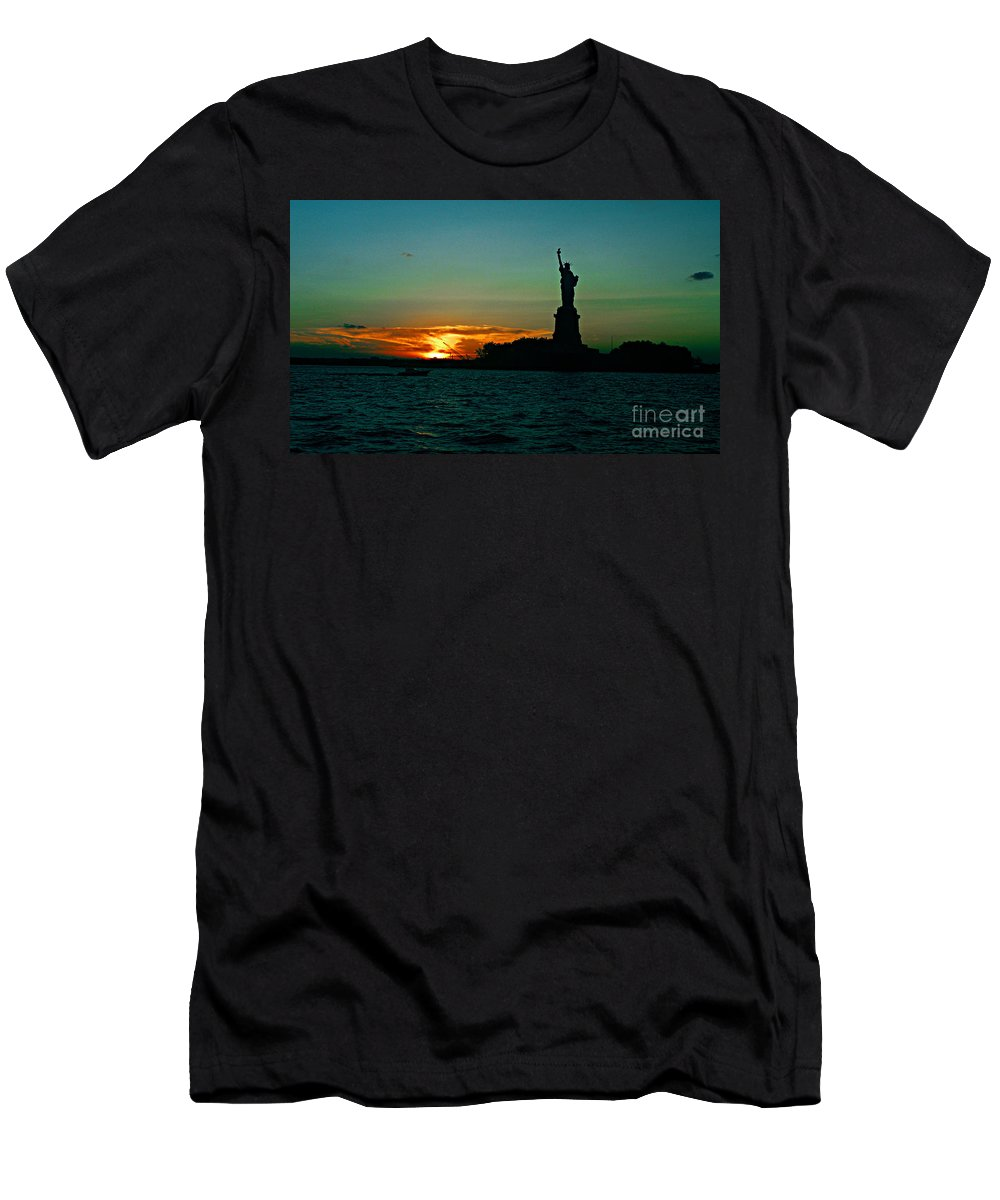 Statute Of Liberty T-Shirt featuring the photograph Her Majesty by Kendall Eutemey