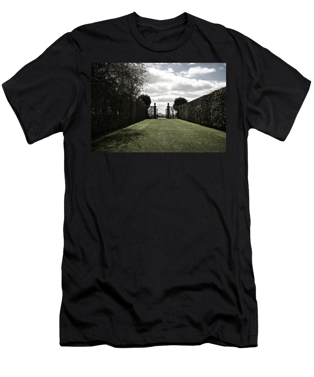 Uk Men's T-Shirt (Athletic Fit) featuring the photograph Hidcote by Christopher Rees