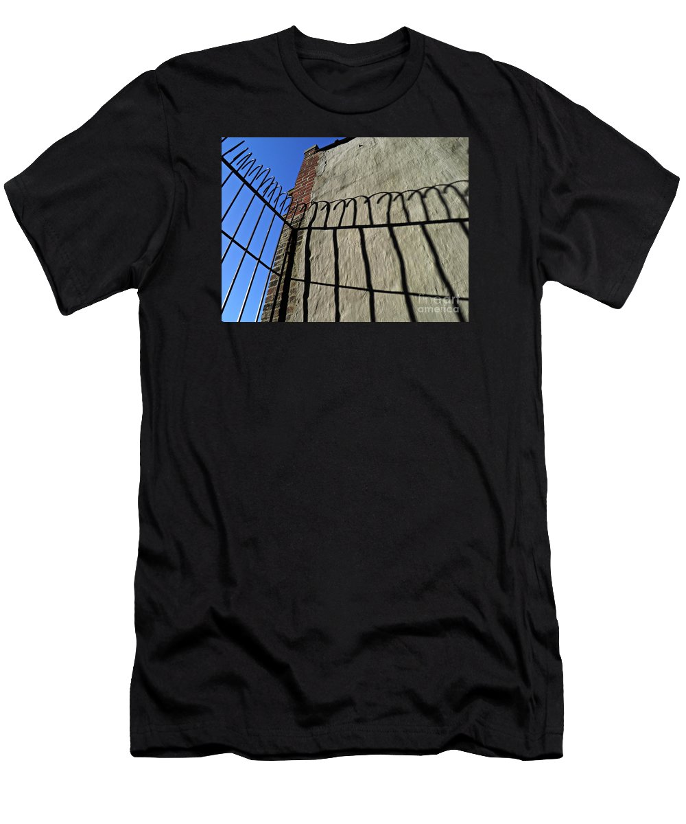 Abstract Men's T-Shirt (Athletic Fit) featuring the photograph High Bars by Sarah Loft