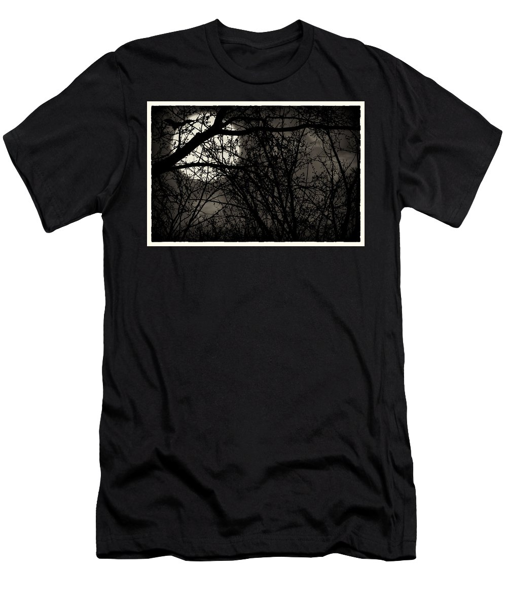 Men's T-Shirt (Athletic Fit) featuring the photograph High Noon At Midnight by John Herzog