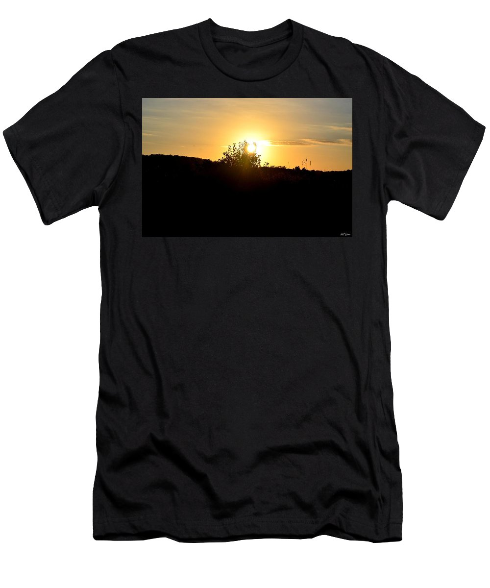 Hill Top Sunrise 2013 Men's T-Shirt (Athletic Fit) featuring the photograph Hill Top Sunrise 2013 by Maria Urso