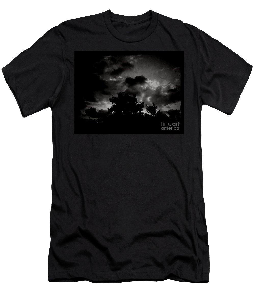 Dark Skies Men's T-Shirt (Athletic Fit) featuring the photograph His Majesty by Heather Taylor