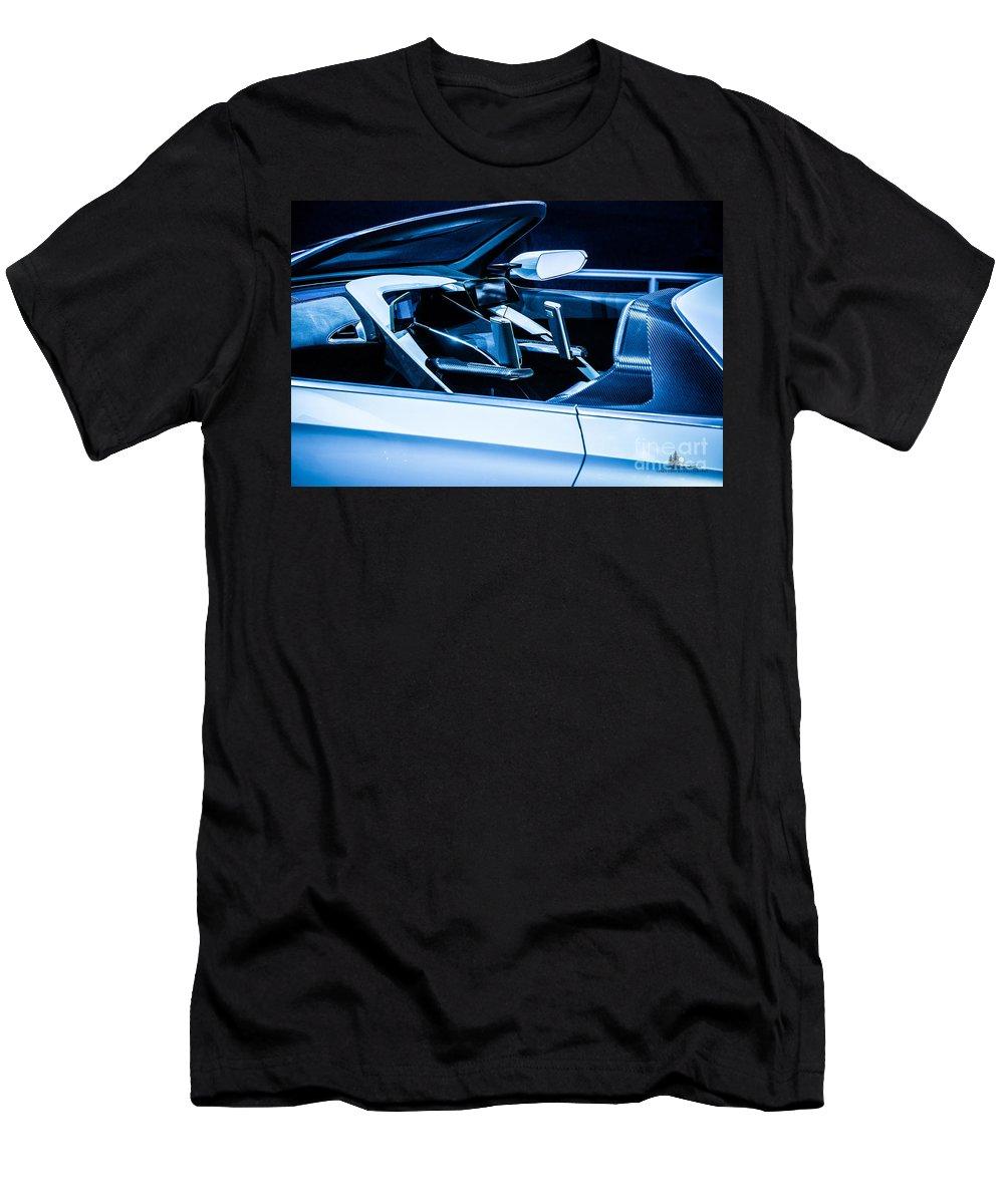 Honda Men's T-Shirt (Athletic Fit) featuring the photograph Honda Concept by Ronald Grogan