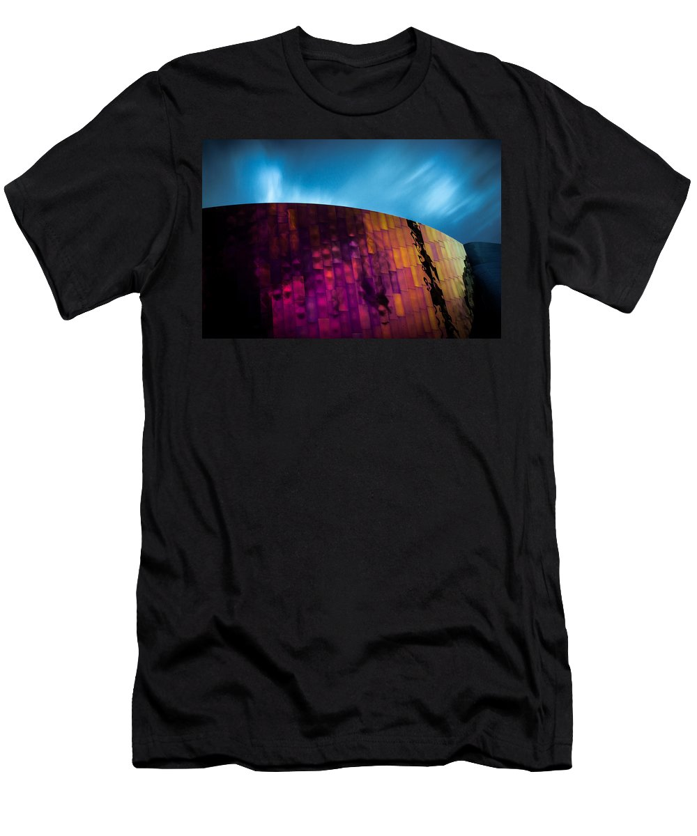 Emp Men's T-Shirt (Athletic Fit) featuring the photograph House On Fire by Dayne Reast