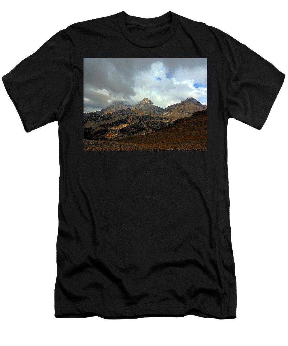 Hurricane Pass Men's T-Shirt (Athletic Fit) featuring the photograph Hurricane Pass by Raymond Salani III