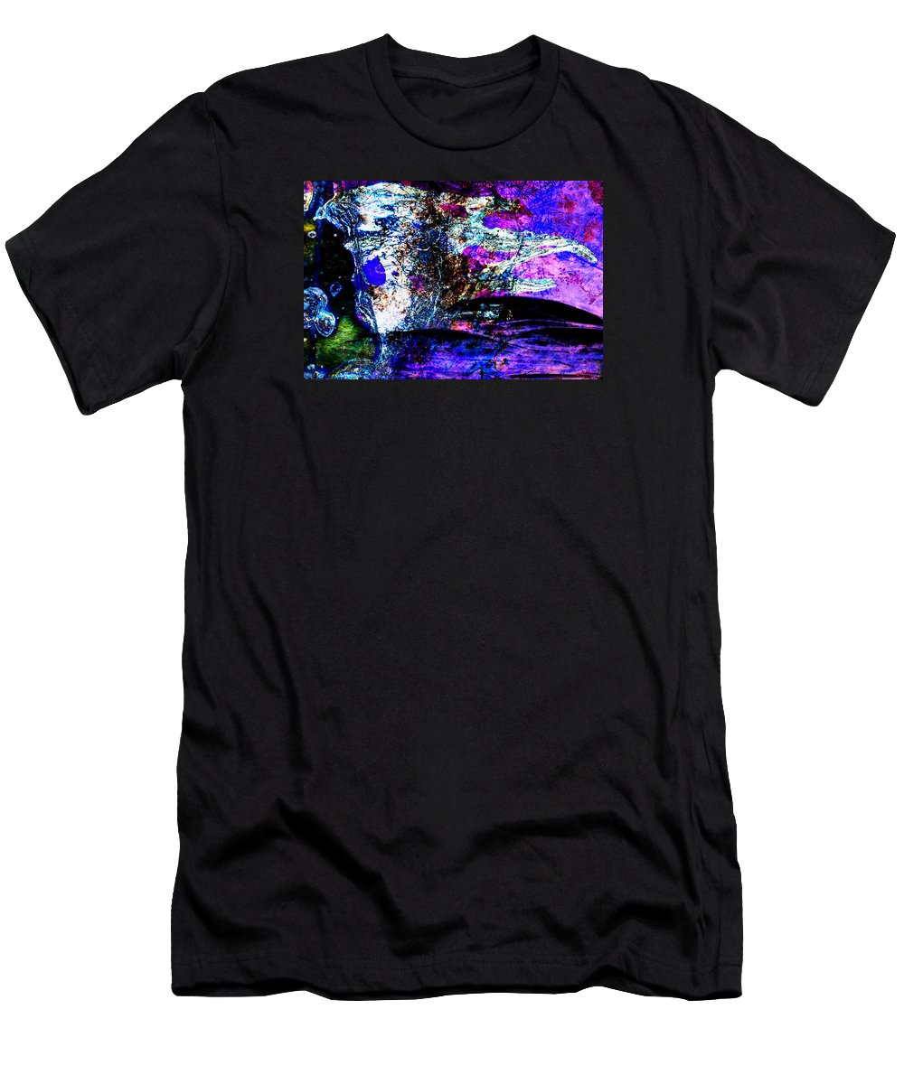 Desert Men's T-Shirt (Athletic Fit) featuring the digital art I Am... The Heros Journey We Each Take To Discover Our Own Purpose And Reason For Being- Autumn 6 by Arthur BRADford Klemmer