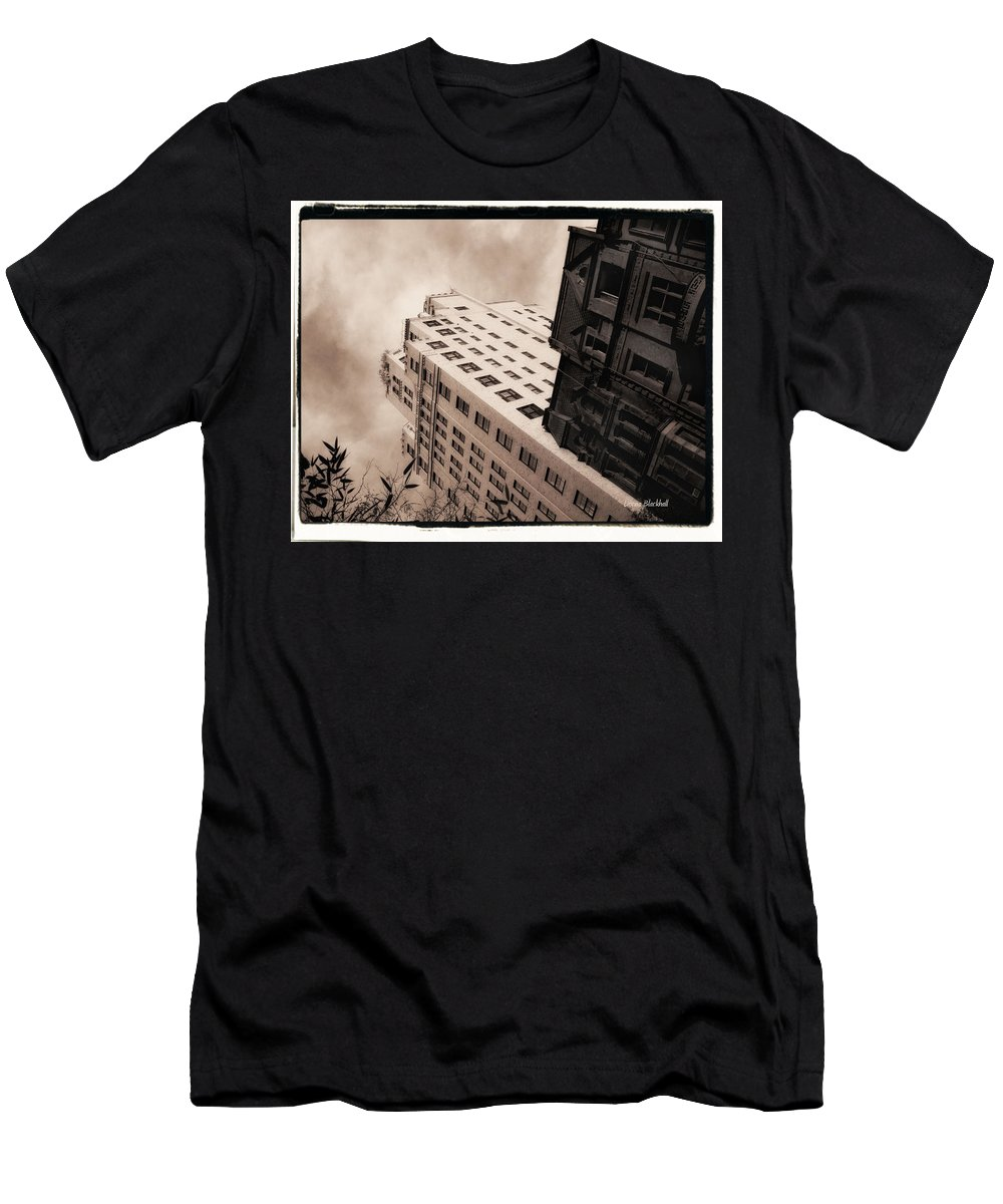 New York Men's T-Shirt (Athletic Fit) featuring the photograph I Have A Crush On You by Donna Blackhall