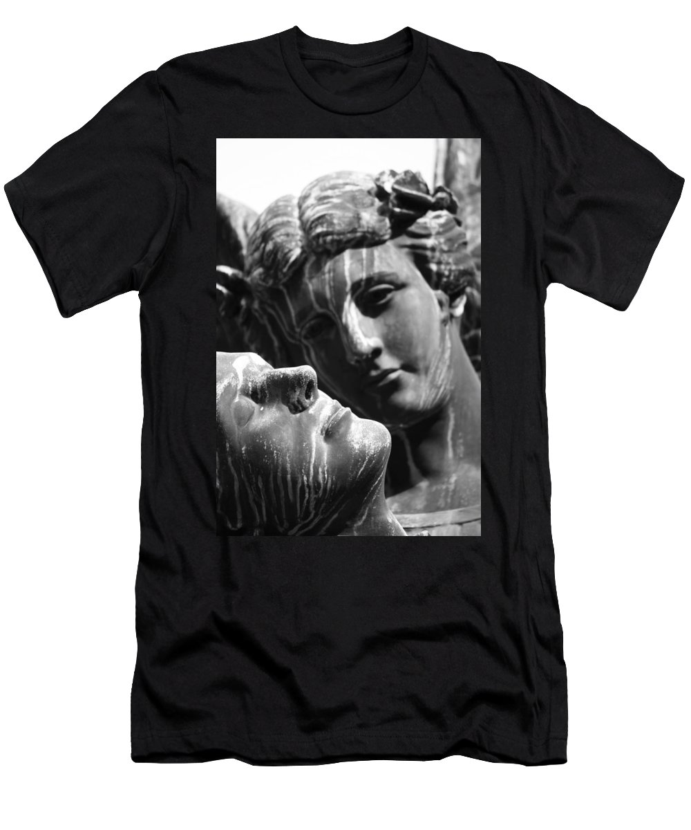 Street Photography Men's T-Shirt (Athletic Fit) featuring the photograph I Loved Once by The Artist Project