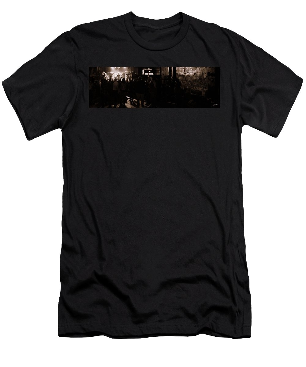 In The Beginning Men's T-Shirt (Athletic Fit) featuring the photograph In The Beginning by Ed Smith