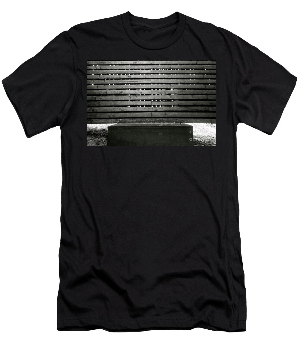 Abstract Men's T-Shirt (Athletic Fit) featuring the photograph In This Space #2 by Jacqueline Athmann