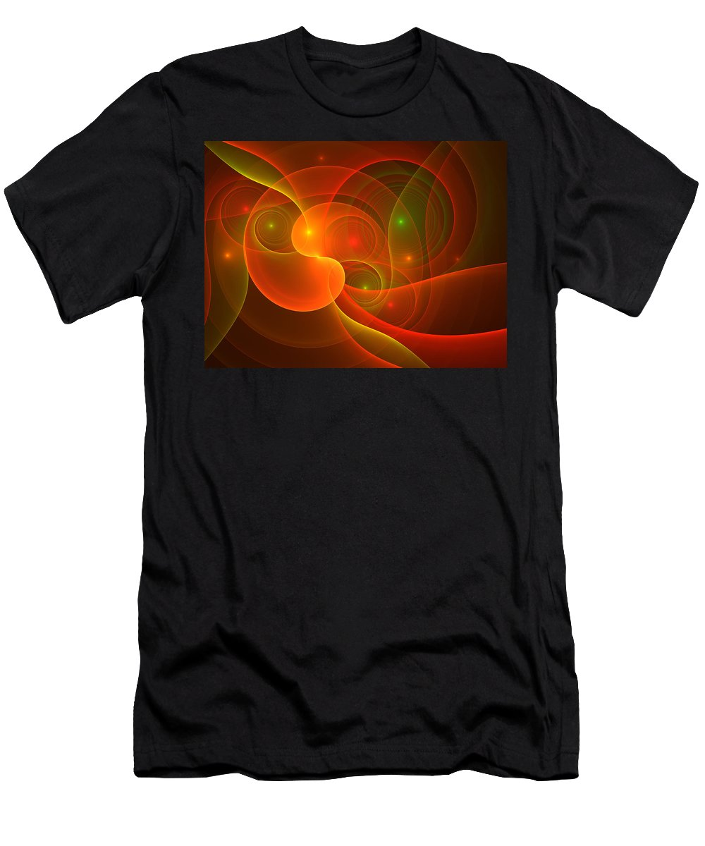 Digital Art Men's T-Shirt (Athletic Fit) featuring the digital art Incredible by Gabiw Art