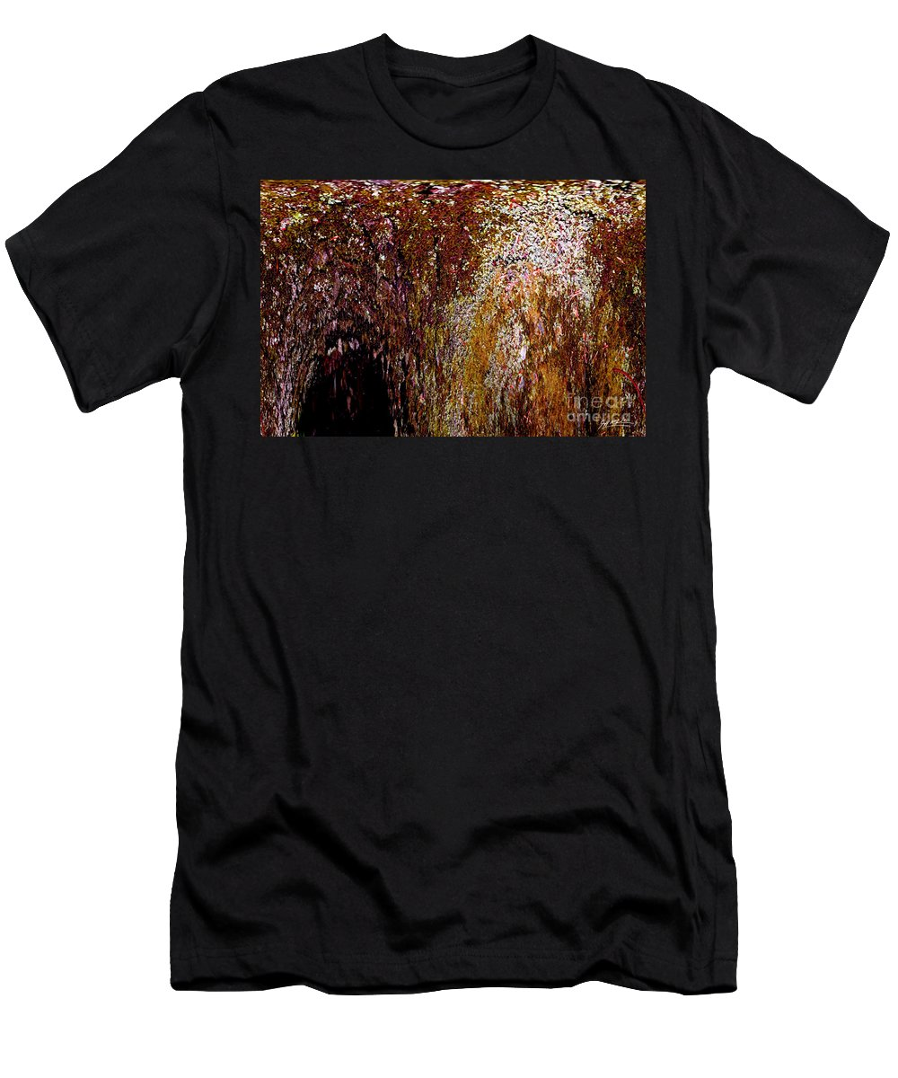 Photography Men's T-Shirt (Athletic Fit) featuring the photograph Inner Sanctum by Jeff McJunkin