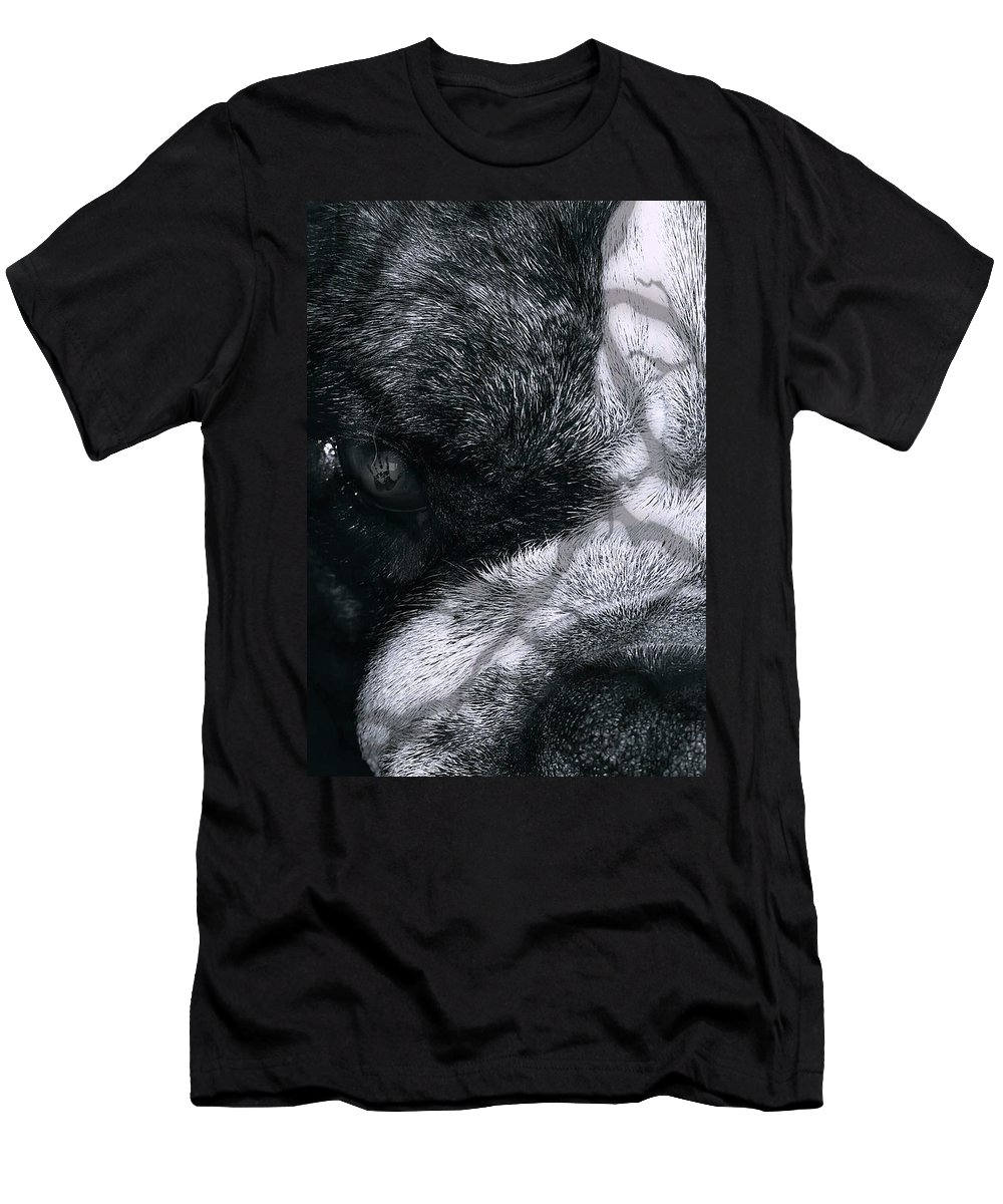 Dog Men's T-Shirt (Athletic Fit) featuring the digital art Insanity by Kimberlee Marvin
