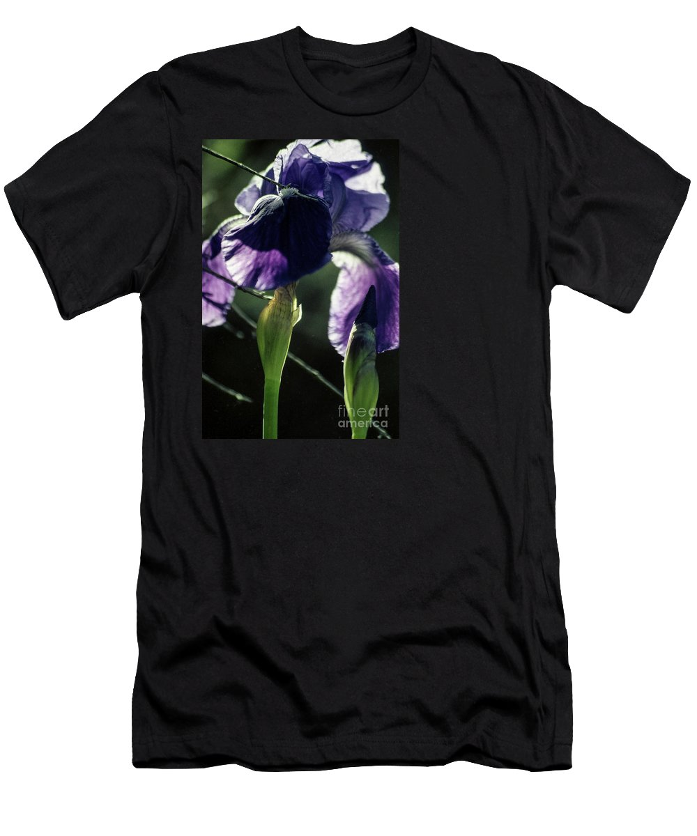 Flowers Men's T-Shirt (Athletic Fit) featuring the photograph Spring's Gift by Kathy McClure