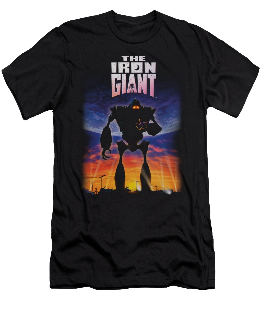 Iron Giant T-Shirt featuring the digital art Iron Giant - Poster by Brand A