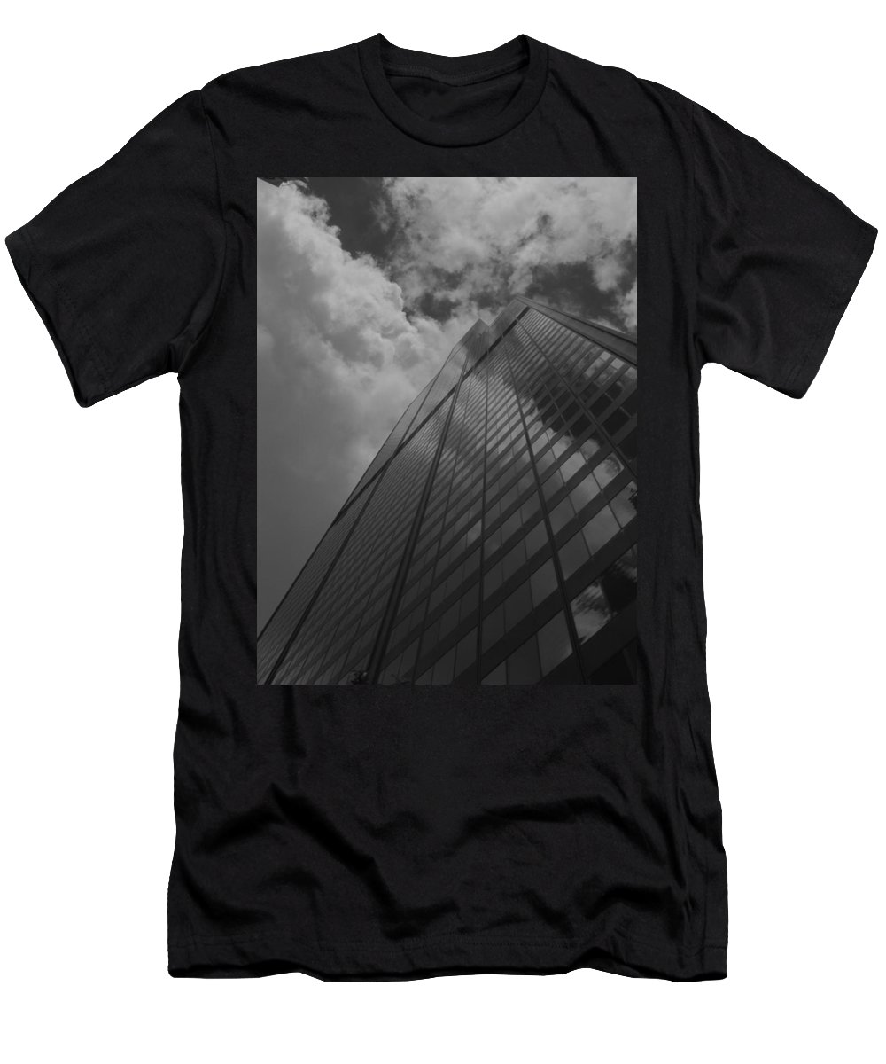 Sear's Tower Men's T-Shirt (Athletic Fit) featuring the photograph It's Always The Sear's To Me by Stacie Adams