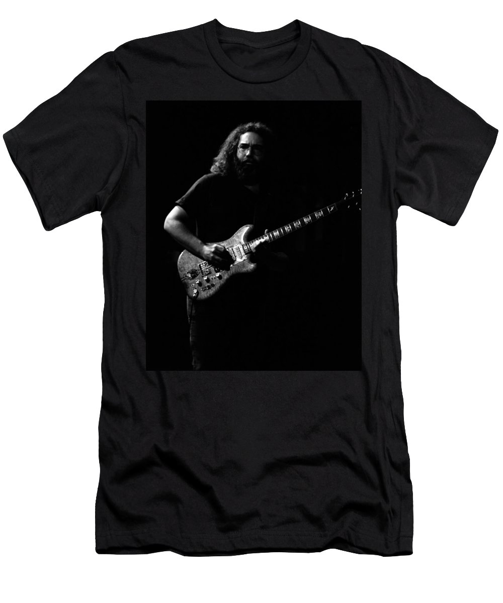 Jerry Garcia Men's T-Shirt (Athletic Fit) featuring the photograph J G B #11 by Ben Upham