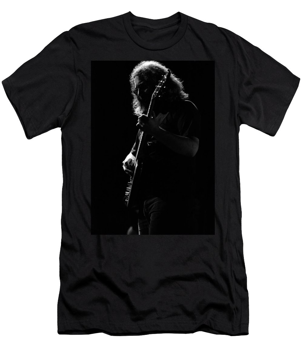 Jerry Garcia Men's T-Shirt (Athletic Fit) featuring the photograph J G B #52 by Ben Upham