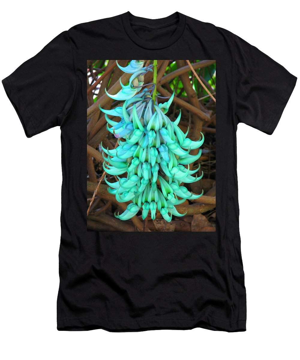 Floral Men's T-Shirt (Athletic Fit) featuring the photograph Jade by Patricia Blake
