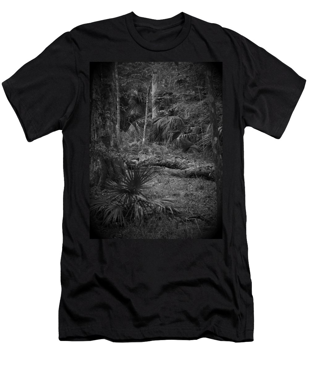 Black Men's T-Shirt (Athletic Fit) featuring the photograph Jb Starkey Number 2 by Phil Penne