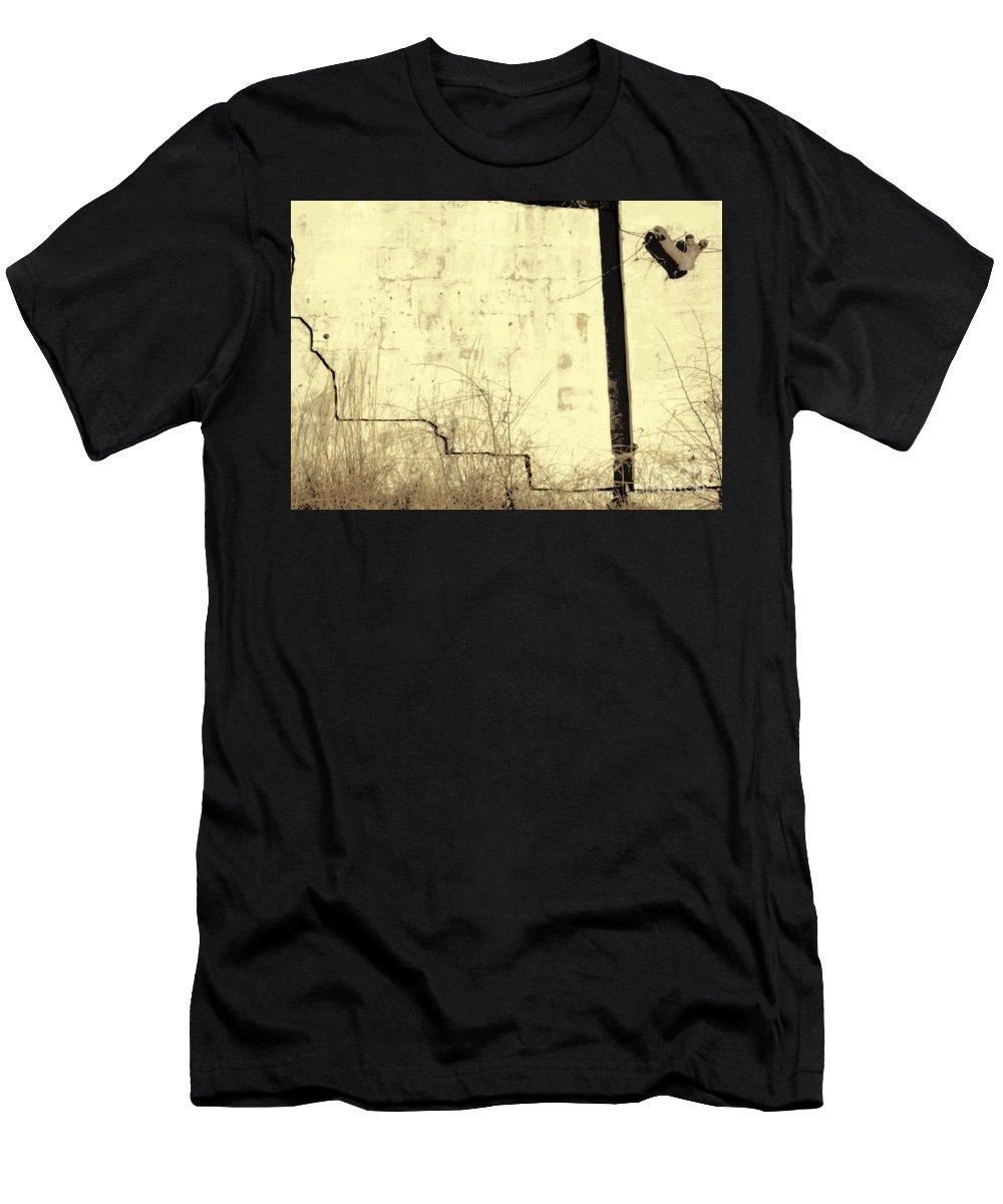 Wall Men's T-Shirt (Athletic Fit) featuring the photograph Jericho by Joe Jake Pratt