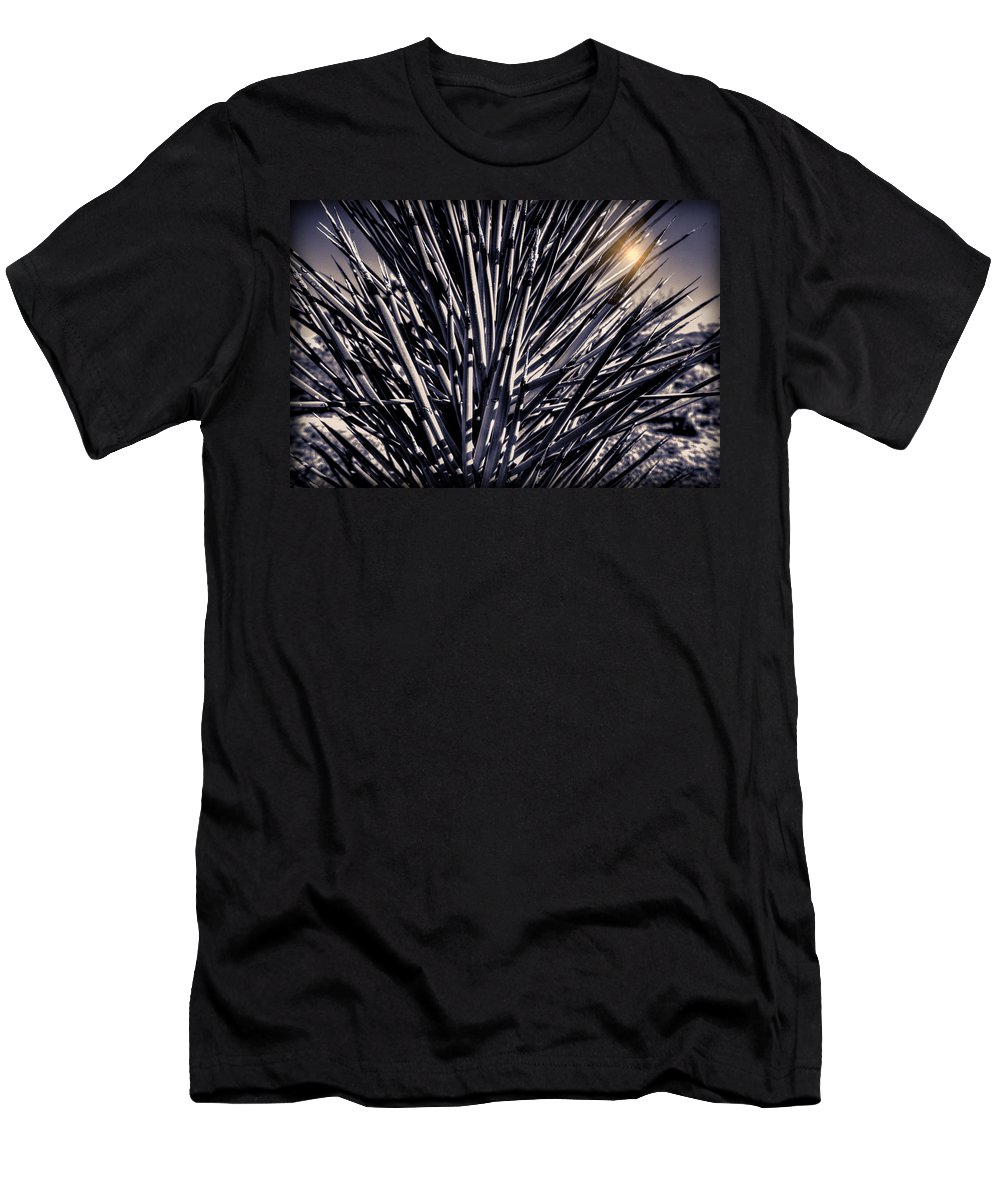 Joshua Tree Men's T-Shirt (Athletic Fit) featuring the photograph Joshua Tree by Jay Hooker