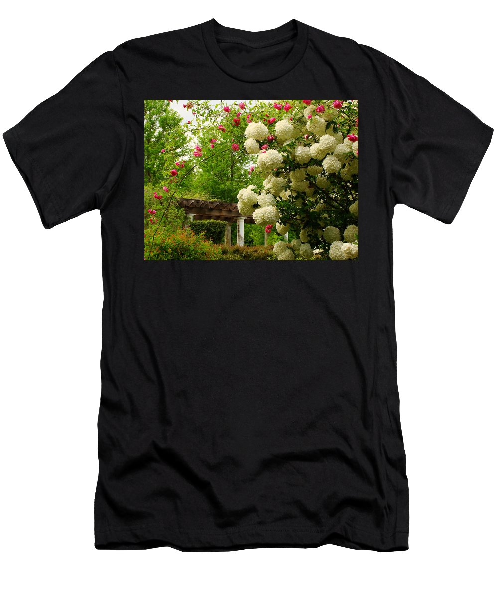 Fine Art Men's T-Shirt (Athletic Fit) featuring the photograph Joyous by Rodney Lee Williams