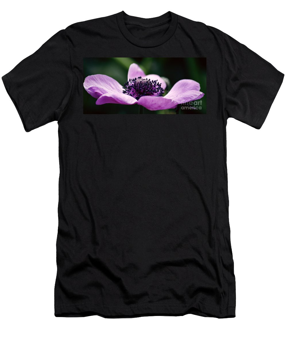Flower Men's T-Shirt (Athletic Fit) featuring the photograph Just A Small Reach by Emily Kay