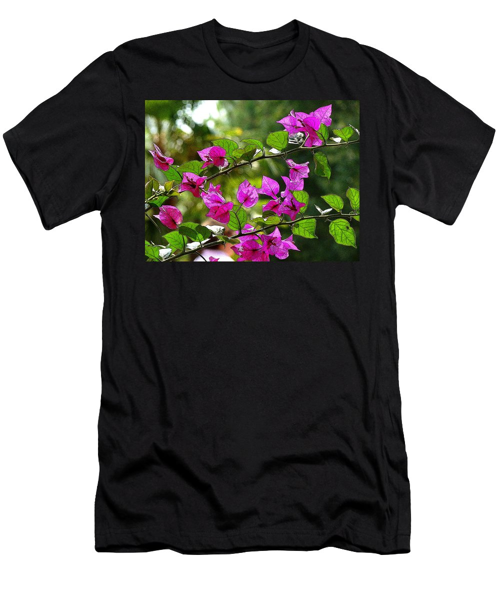 Fine Art Men's T-Shirt (Athletic Fit) featuring the photograph Just A Touch by Rodney Lee Williams
