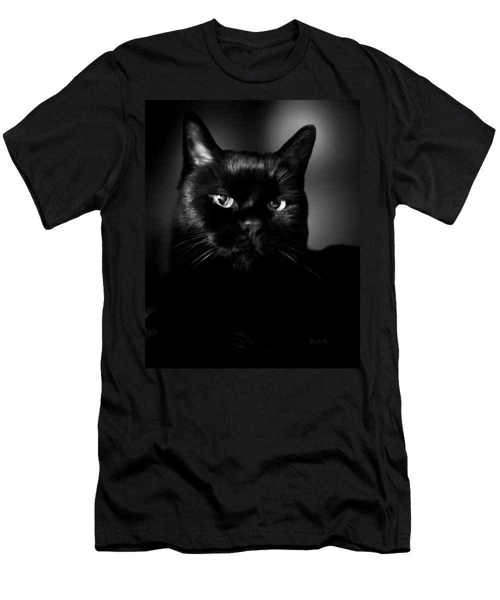 Cat Men's T-Shirt (Athletic Fit) featuring the photograph Just Thinking by Bob Orsillo