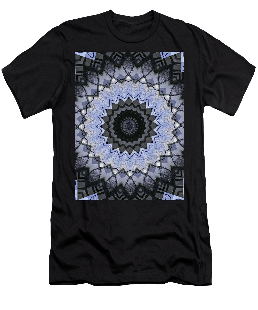 Kaleidoscope Men's T-Shirt (Athletic Fit) featuring the photograph K5 by Mechala Matthews