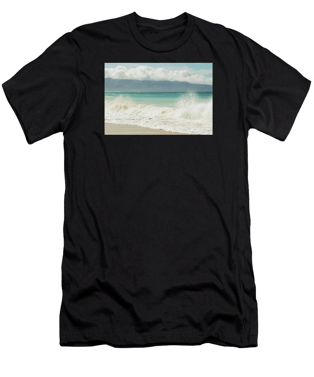 Aloha Men's T-Shirt (Athletic Fit) featuring the photograph Kapukaulua - Purely Celestial by Sharon Mau