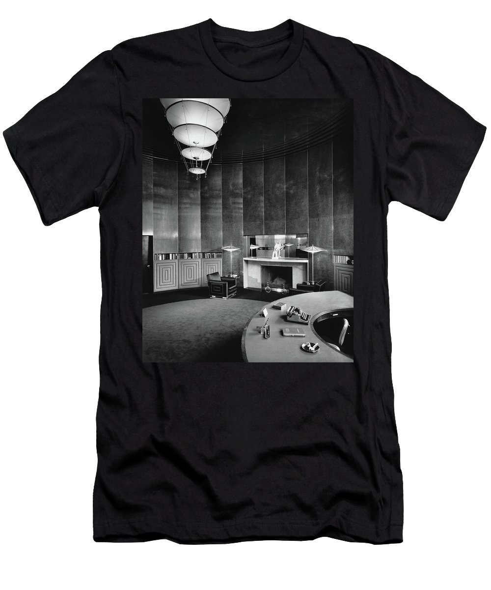 Interior T-Shirt featuring the photograph Katharine Brush's Study by F. S. Lincoln