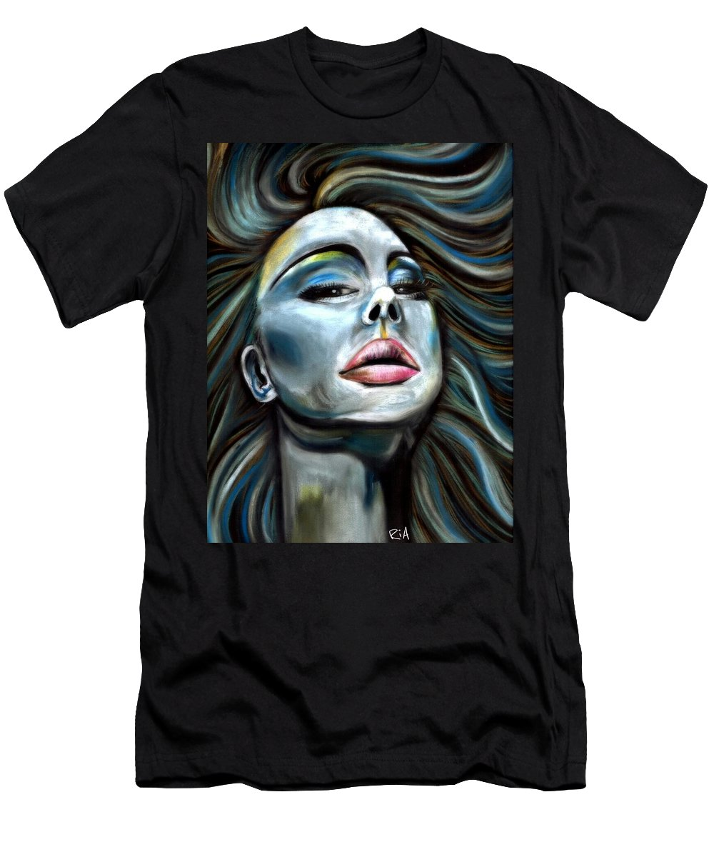 Beautiful T-Shirt featuring the photograph Keep ya Head Up by Artist RiA