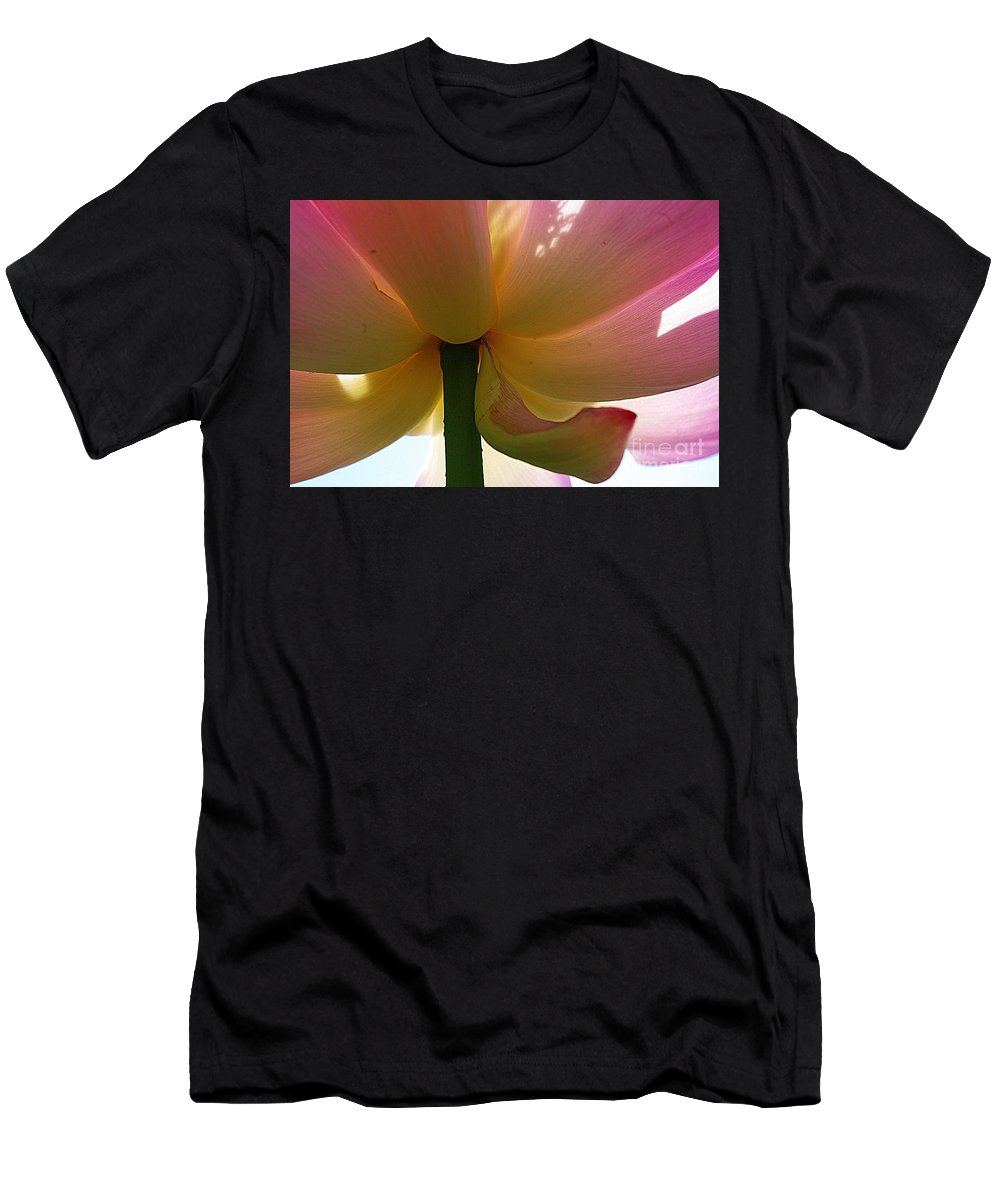 Flower Men's T-Shirt (Athletic Fit) featuring the photograph Kenilworth Garden Four by John S