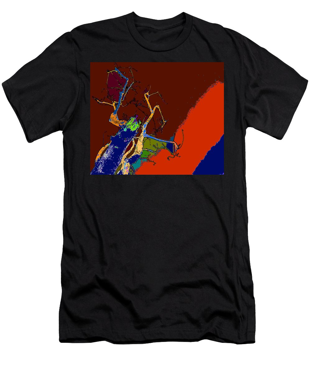 Dying To Live Men's T-Shirt (Athletic Fit) featuring the photograph Kenneth's Nature - Dying To Live - Series - 09 by Kenneth James