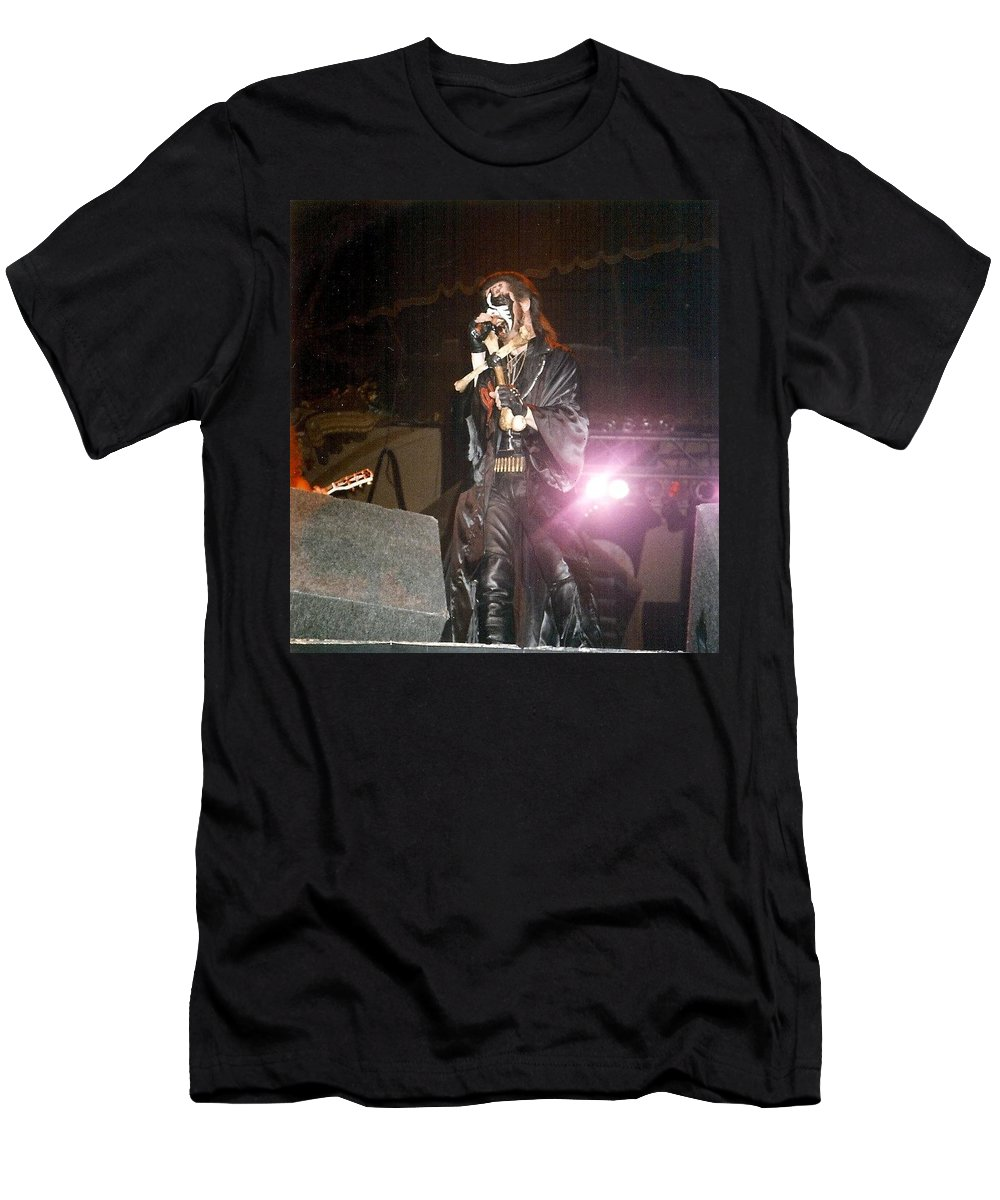 King Diamond Men's T-Shirt (Athletic Fit) featuring the photograph King Diamond by Sheryl Chapman Photography
