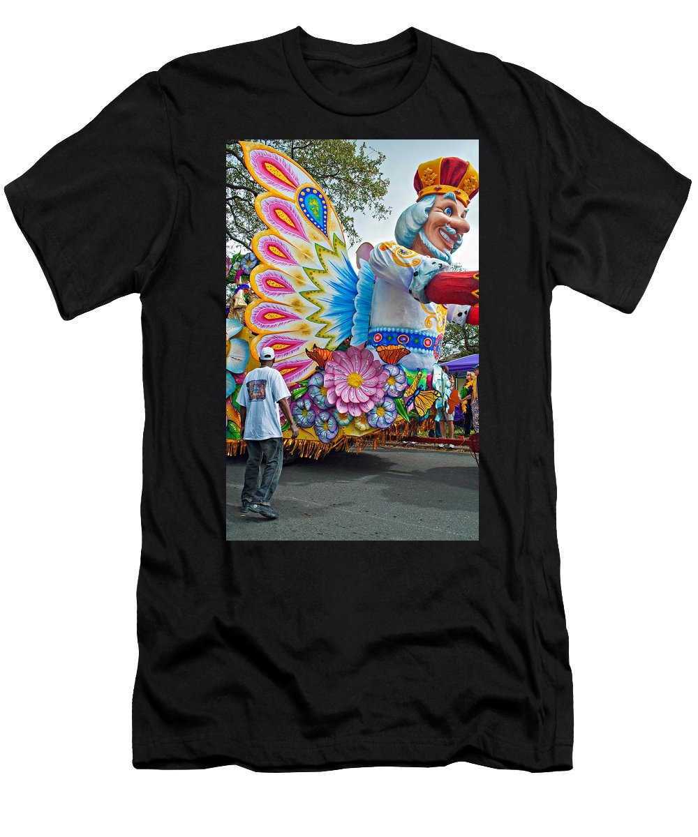 New Orleans Men's T-Shirt (Athletic Fit) featuring the photograph King Of The Butterflies by Steve Harrington
