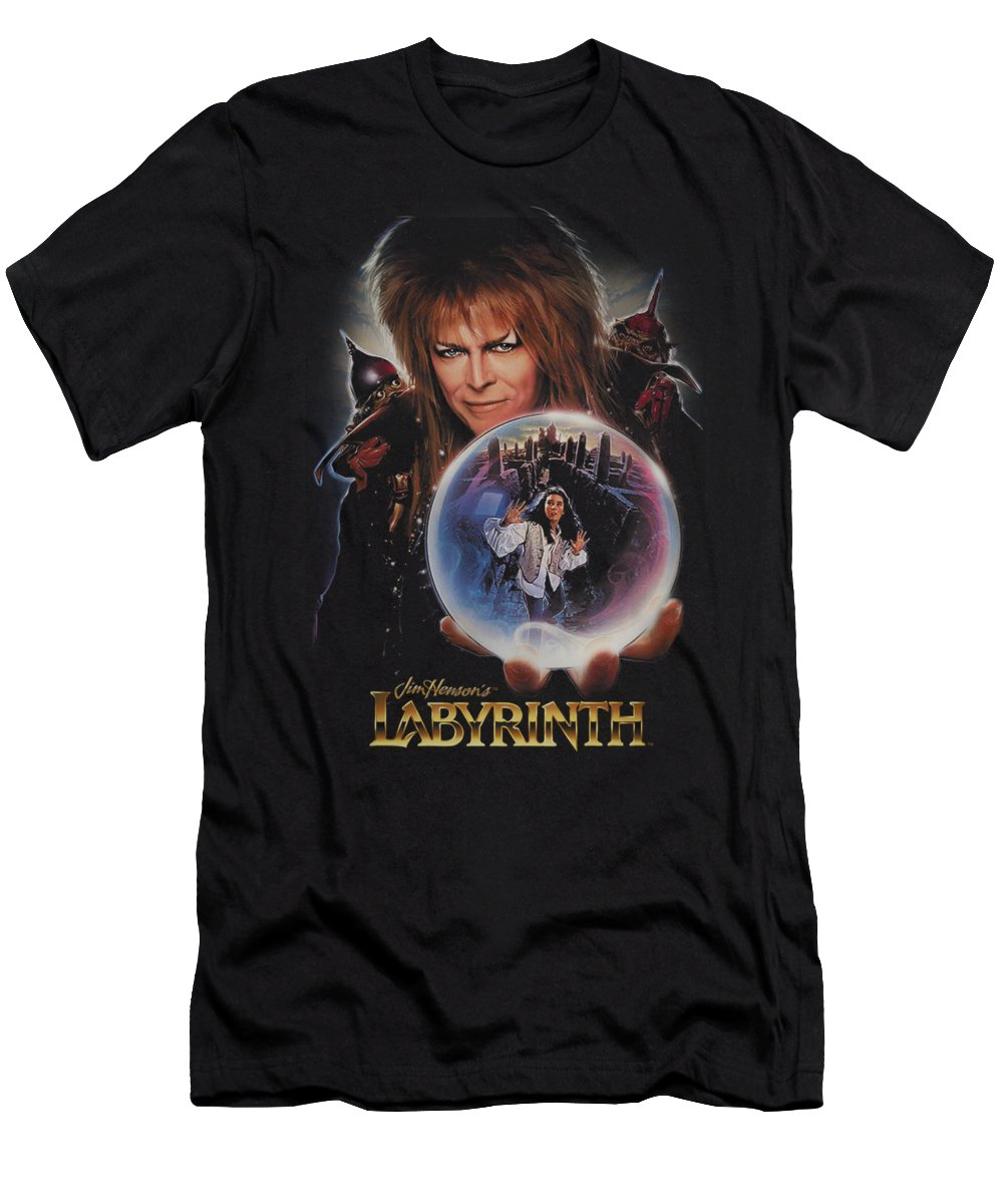 Labyrinth T-Shirt featuring the digital art Labyrinth - I Have A Gift by Brand A