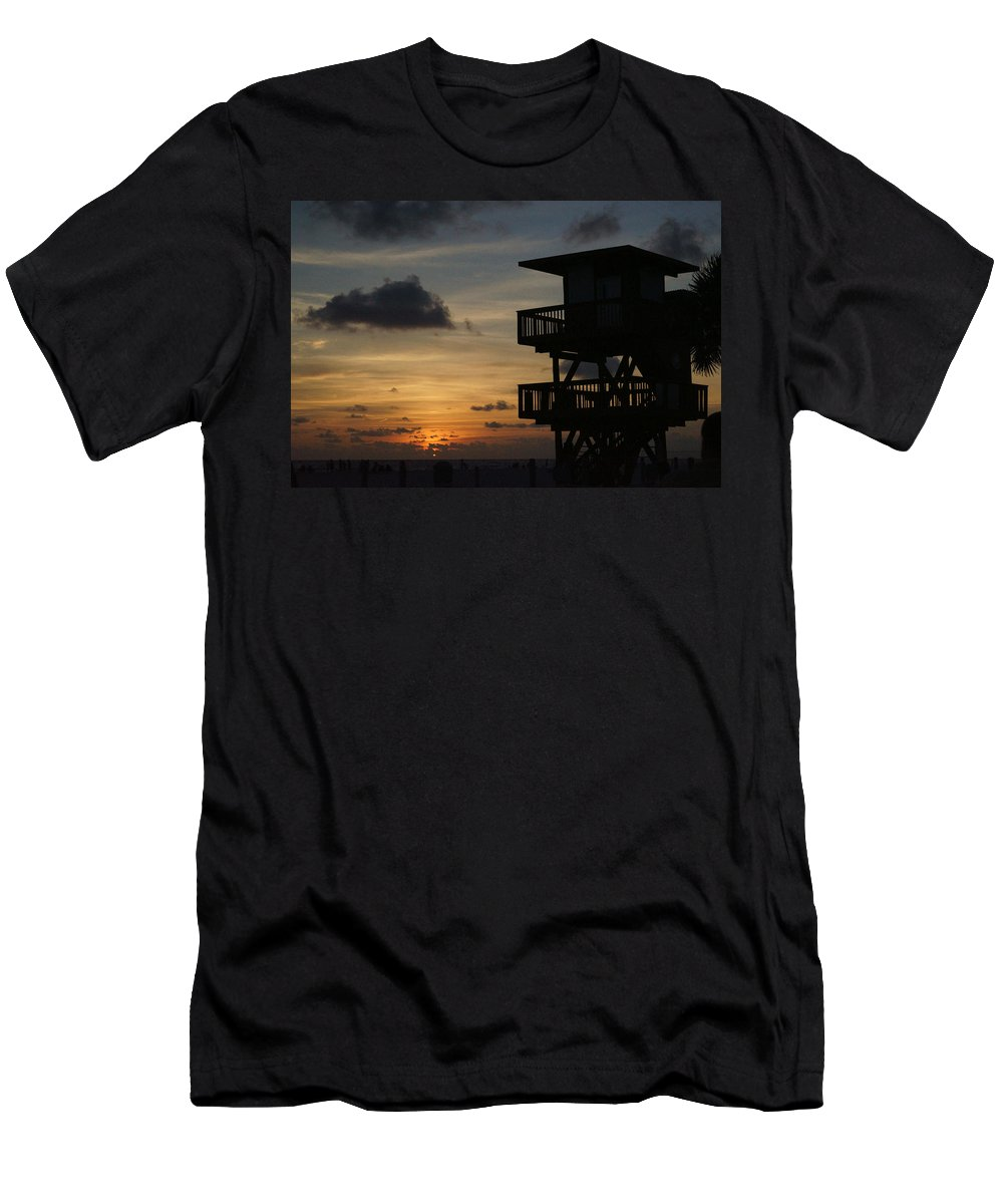 Lorida T-Shirt featuring the photograph Last Watch by Jean Macaluso