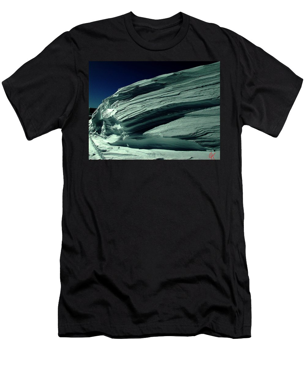 Colette Men's T-Shirt (Athletic Fit) featuring the photograph Late Day In The Mountain by Colette V Hera Guggenheim