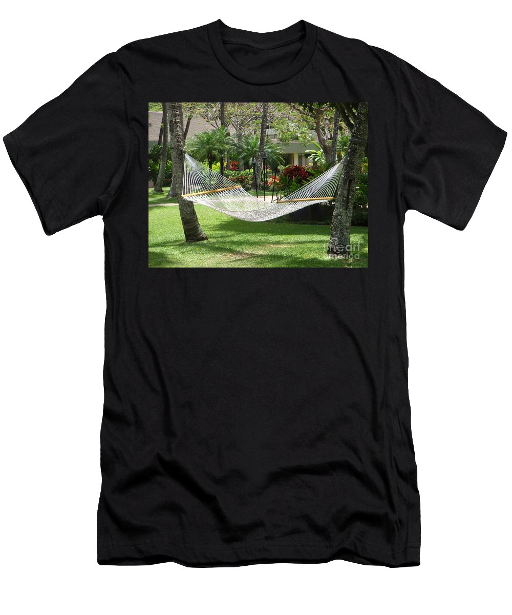 Mary Deal Men's T-Shirt (Athletic Fit) featuring the photograph Lazy Days by Mary Deal