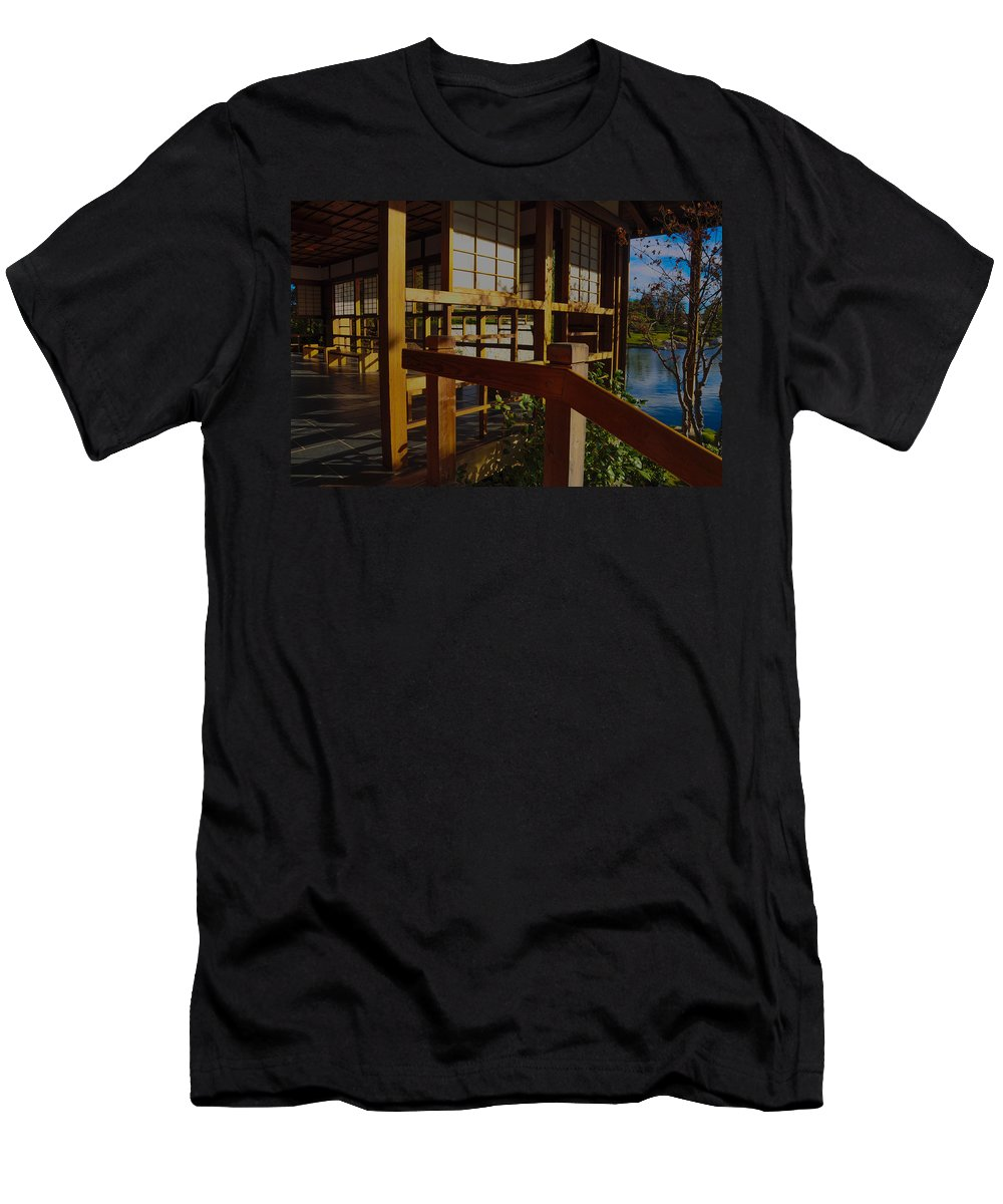 Suihoen Men's T-Shirt (Athletic Fit) featuring the photograph Lets Have Tea by Keisha Marshall